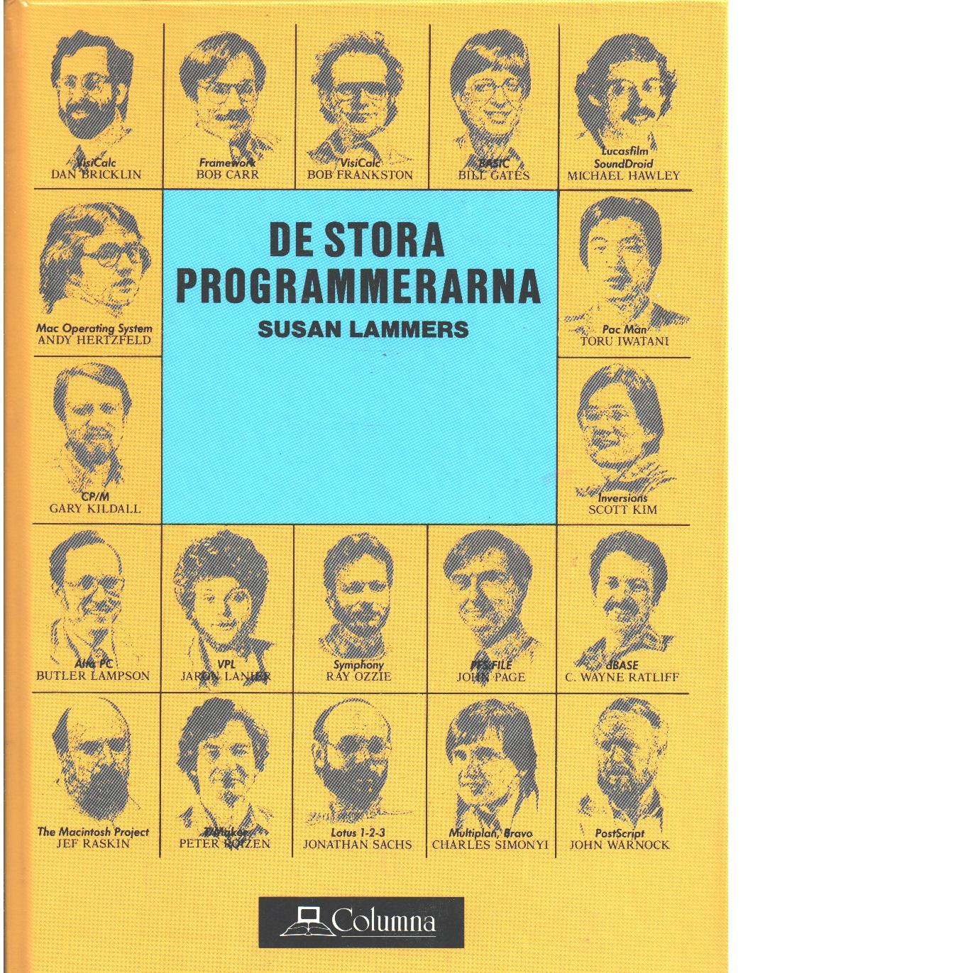 De stora programmerarna - Lammers, Susan