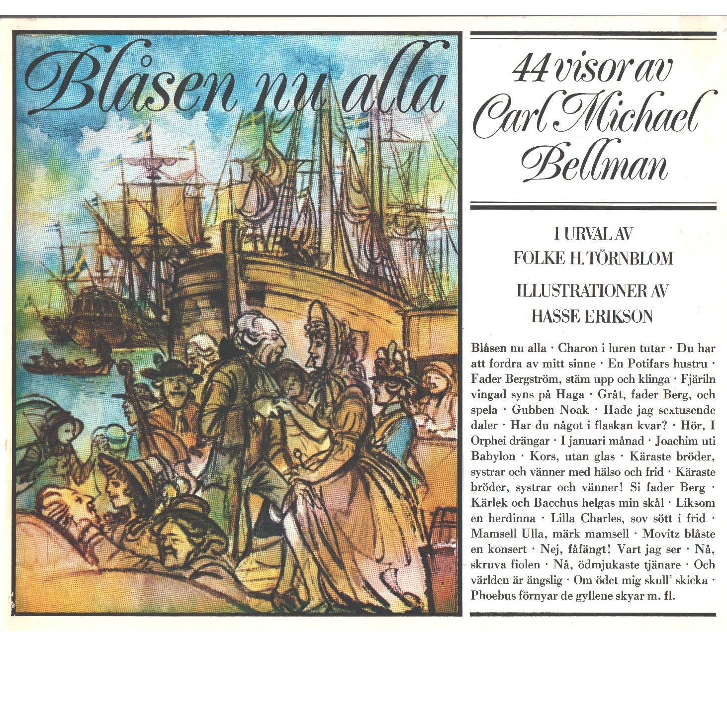 Blåsen nu alla : 44 visor - Bellman, Carl Michael