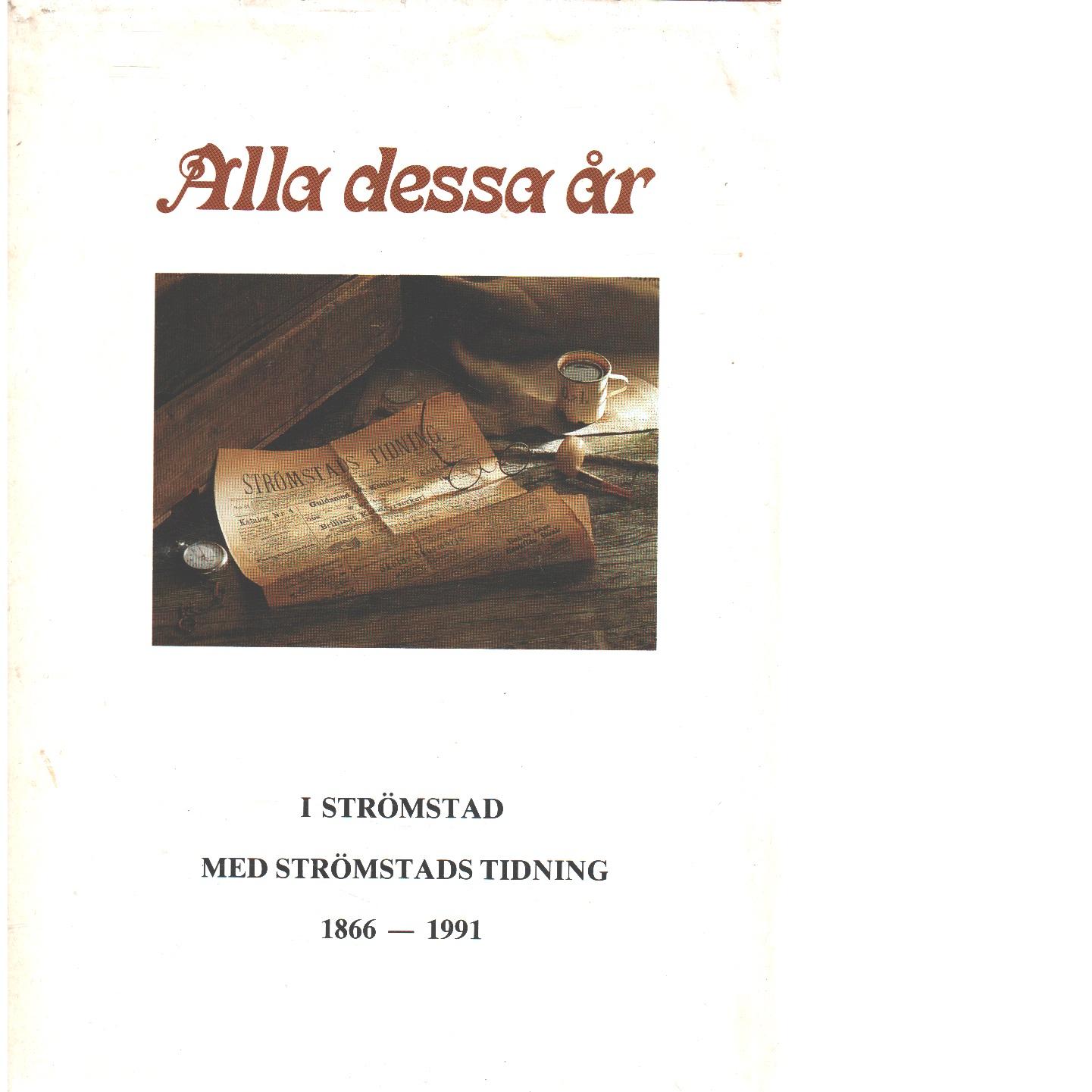 Alla dessa år - Strandberg, Sven-Olle