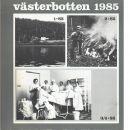 Västerbotten : Västerbottens läns hembygdsförenings årsbok 1985 - Red.