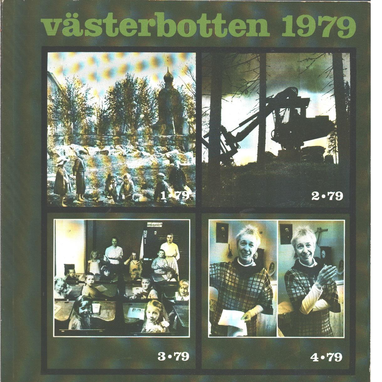 Västerbotten : Västerbottens läns hembygdsförenings årsbok 1979 - Red.