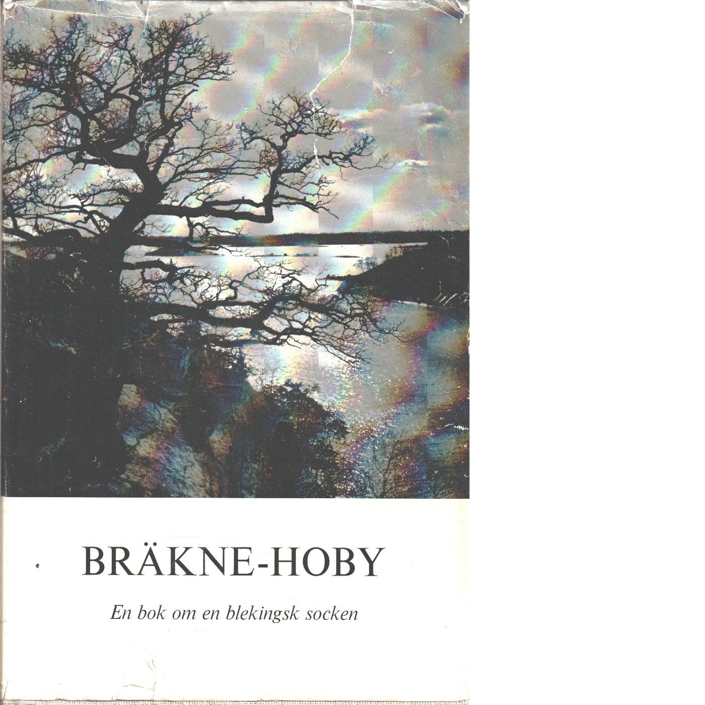 Bräkne-Hoby : en sockenbok : [en bok om en blekingsk socken] - Red. Wirén, Folke