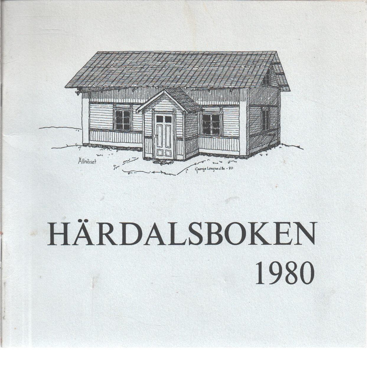 Härdalsboken 1980  : årsskrift för Lillhärdals hembygdsförening  - Red.