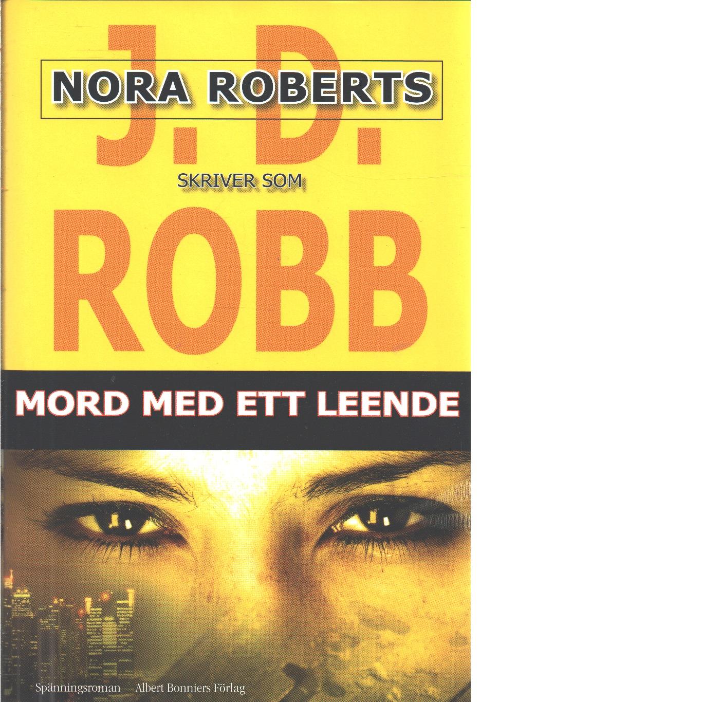 Mord med ett leende  - Robb, J. D