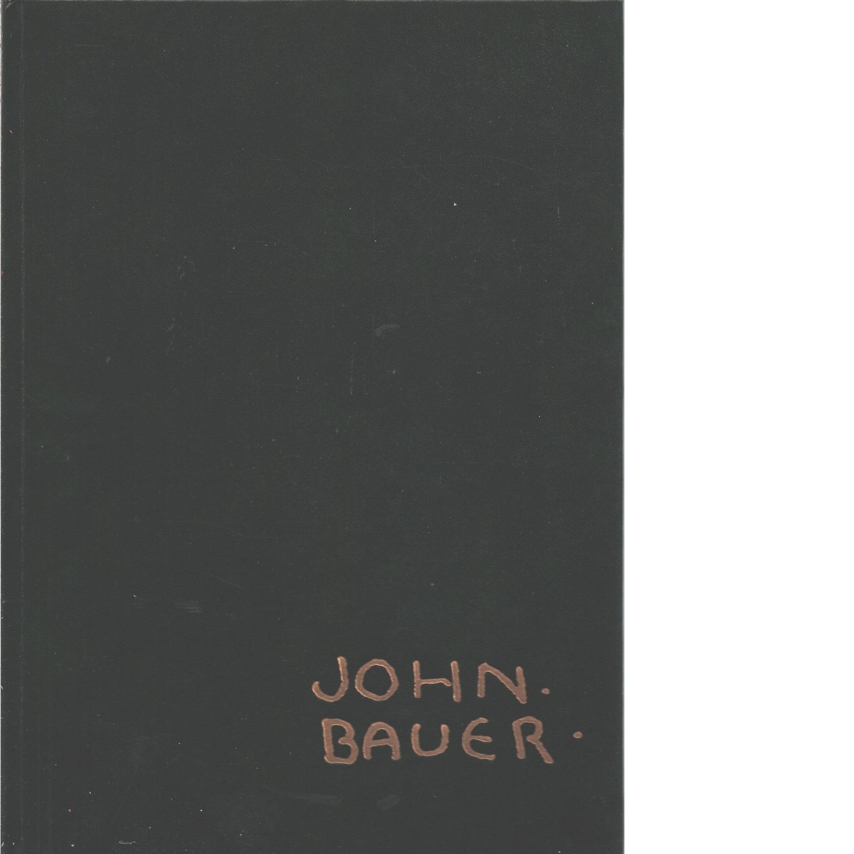 John Bauer : en konstnär och hans sagovärld - Bauer, John,