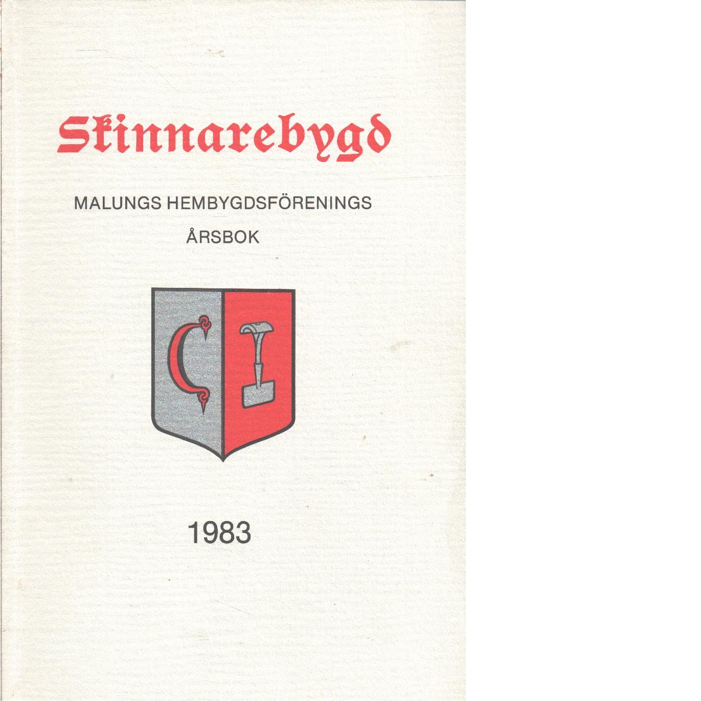 Skinnarebygd : Malungs hembygdsförenings årsbok  1983 - Red.