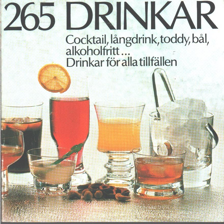 265 drinkar - Red.