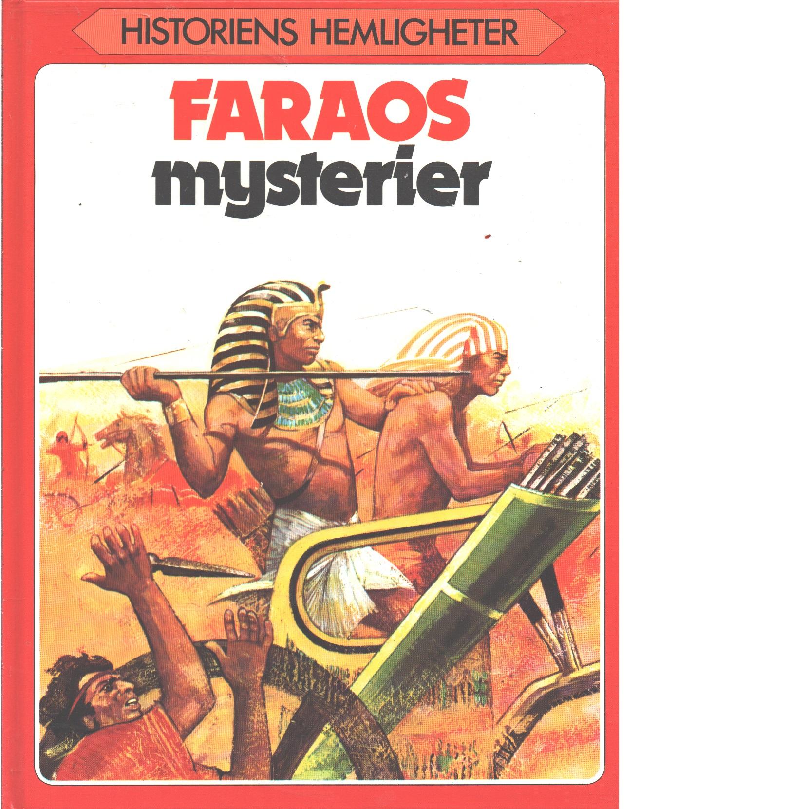 Faraos mysterier  - May, Robin