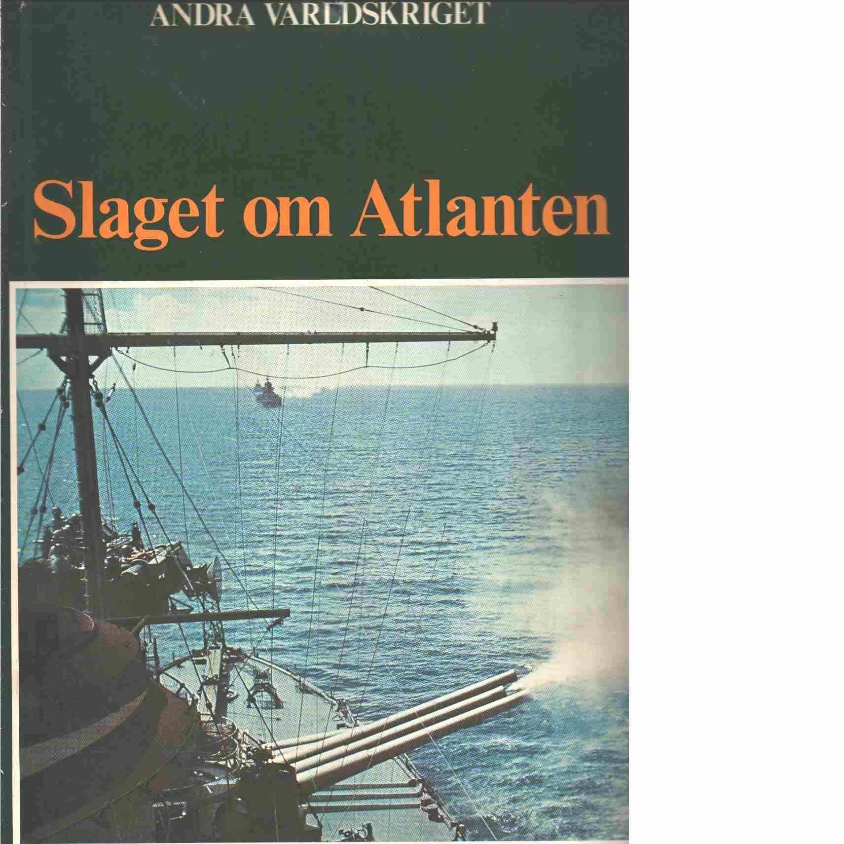 Slaget om Atlanten  - Bauer, Eddy