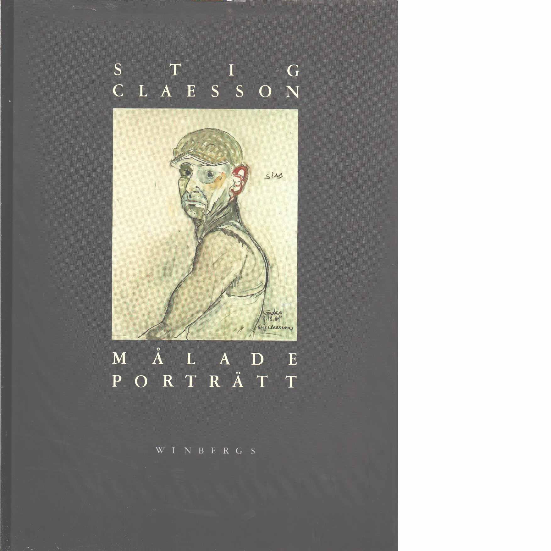 Målade porträtt  - Claesson, Stig