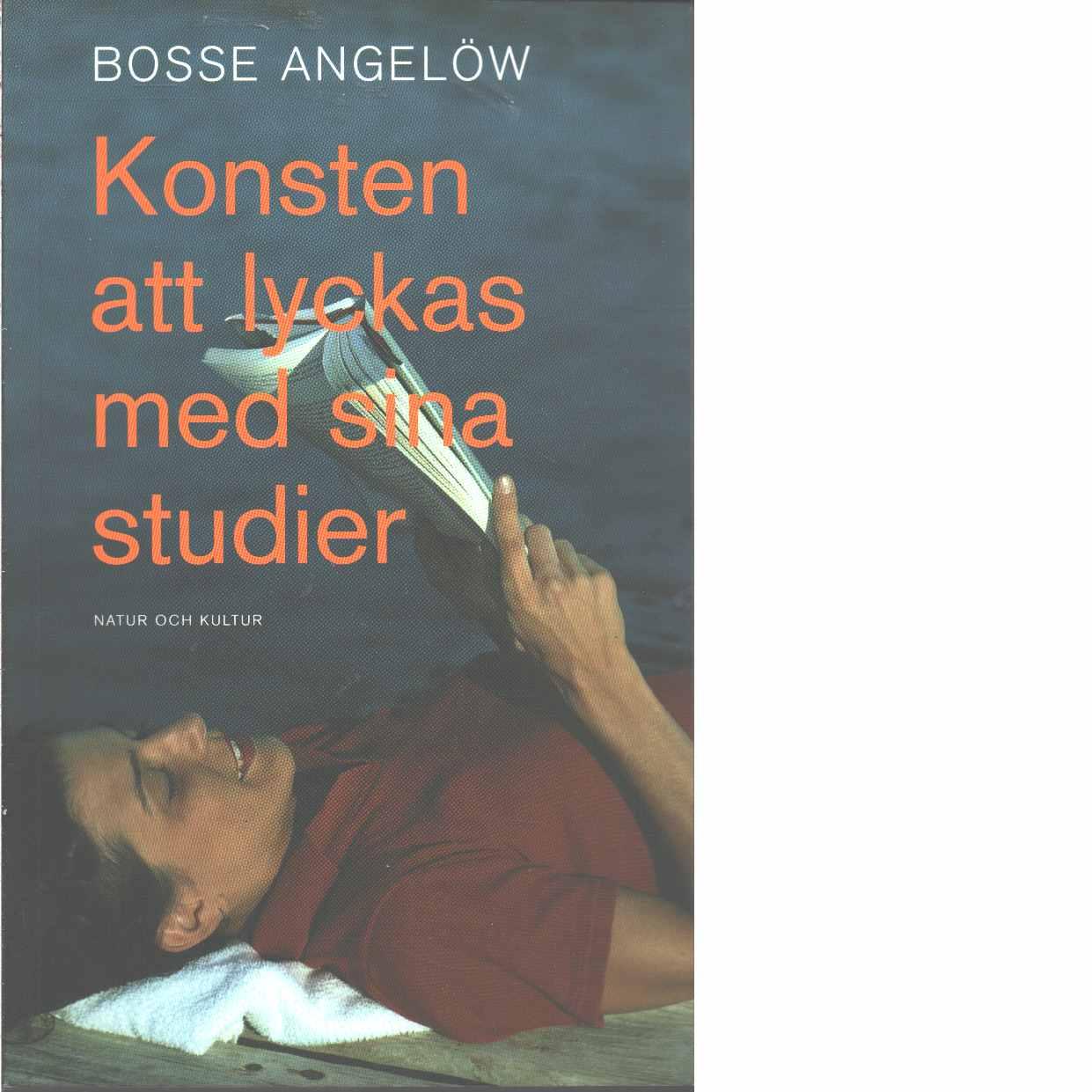 Konsten att lyckas med sina studier - Angelöw, Bosse