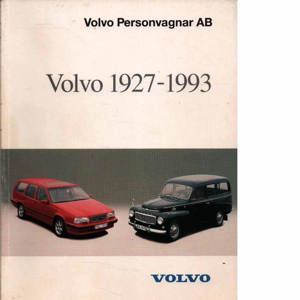 Volvo 1927-1993 - Red.