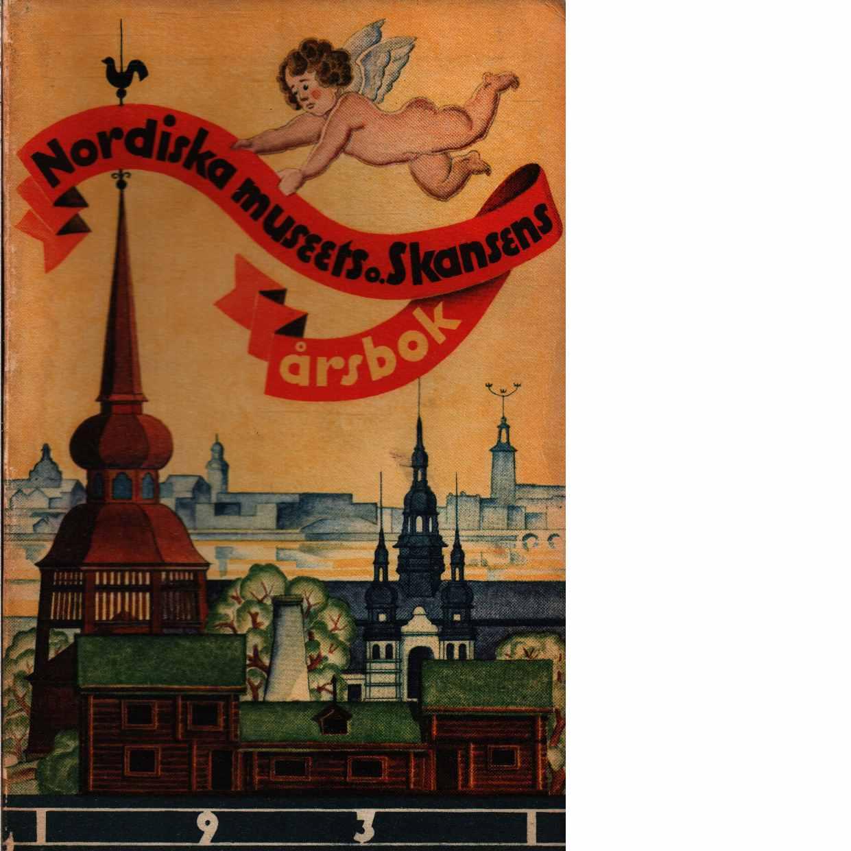 Fataburen : nordiska museets och skansens årsbok. 1931 - Red.
