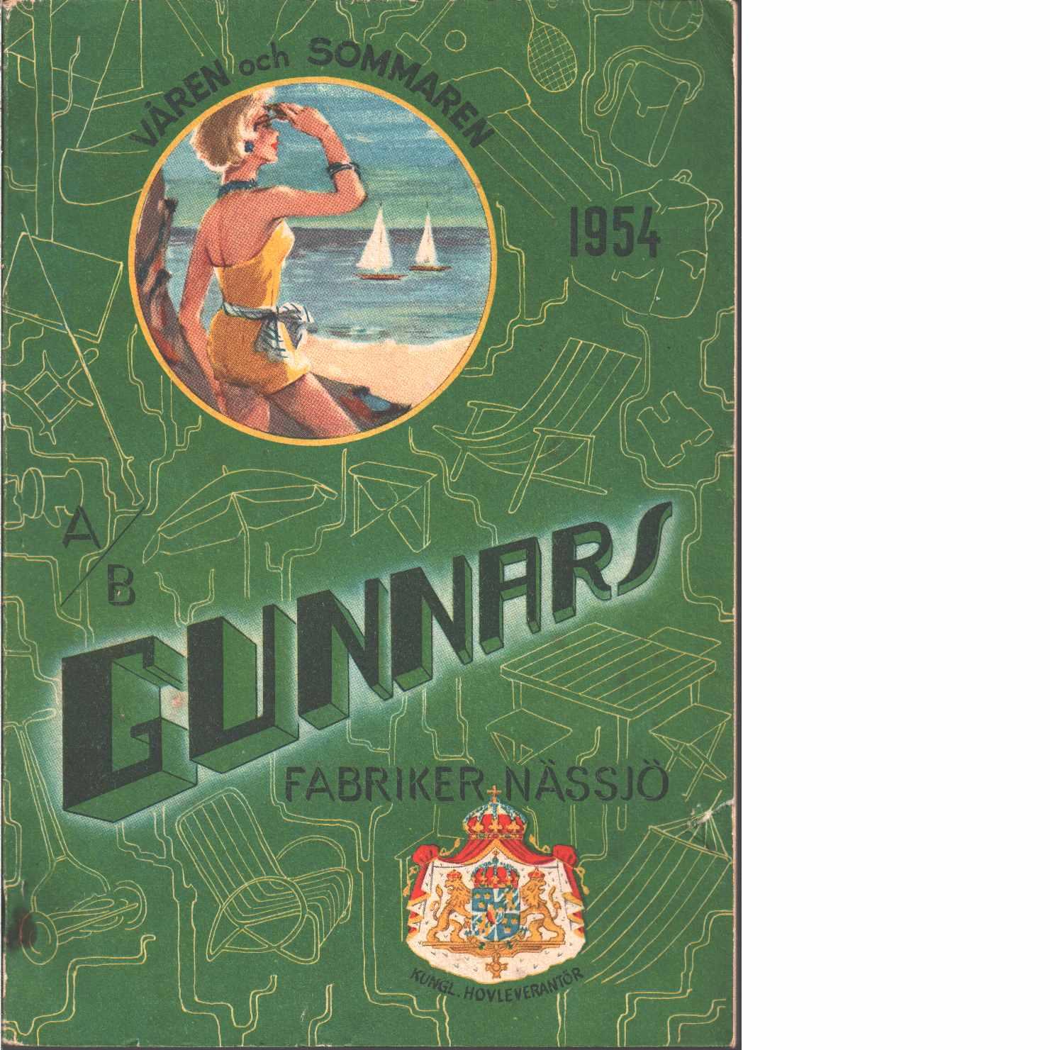 Gunnars fabriker Nässjö våren och sommaren 1954 - Red.