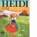Heidi / förkortad uppl. av Johanna Spyris berömda berättelse - Spyri, Johanna och