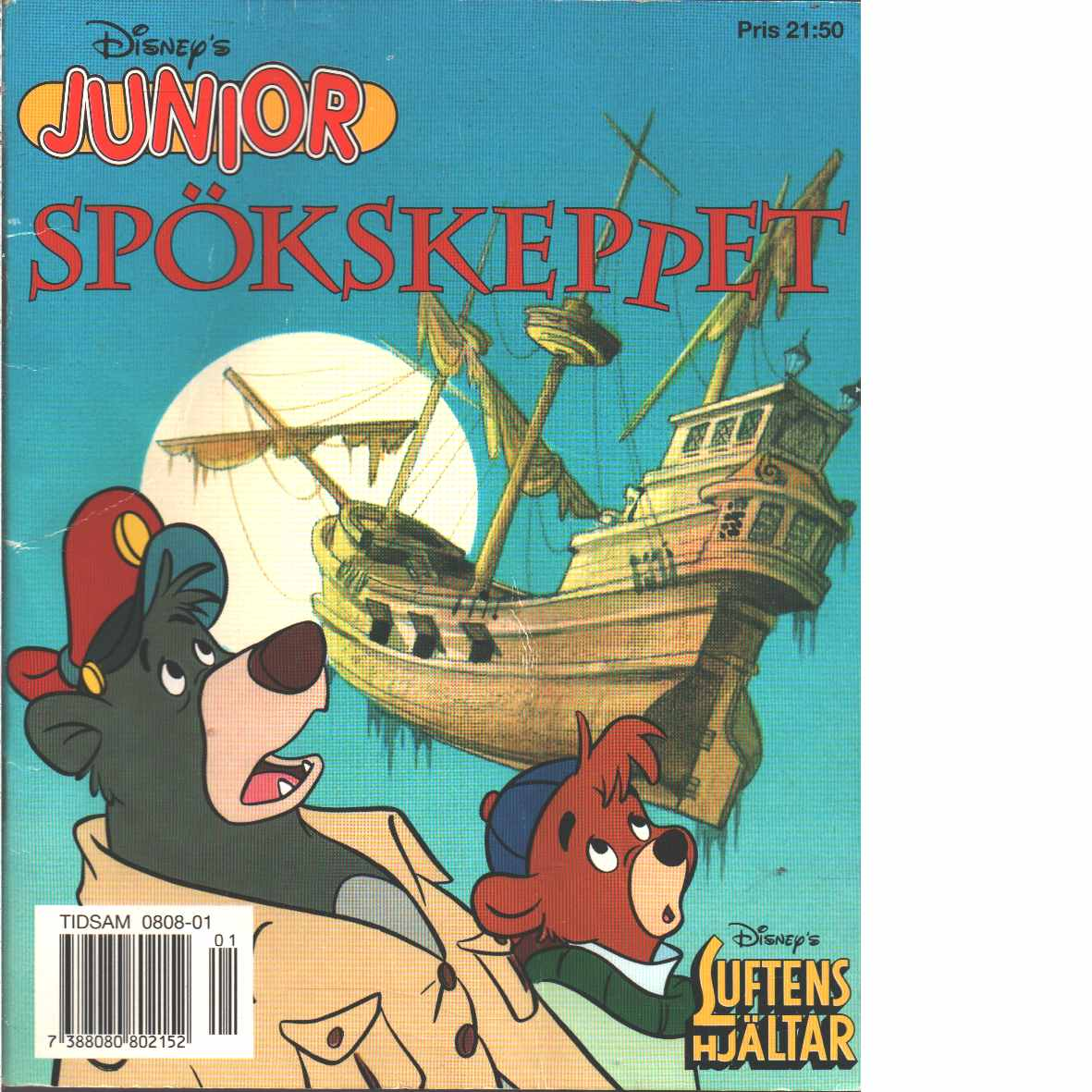 Luftens hjältar : spökskeppet - Red, Walt Disney Company
