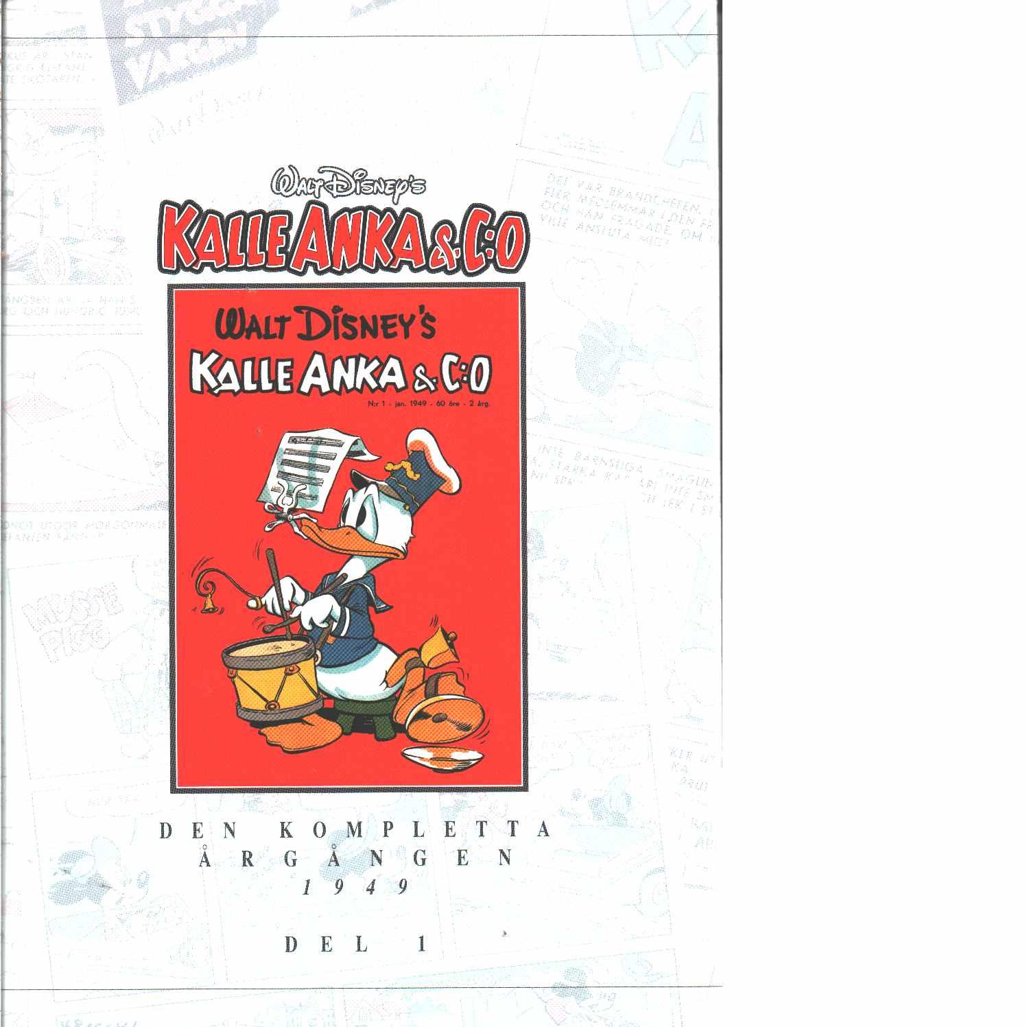 Kalle Anka & C:o. Den kompletta årgången 1949 D 1 - Walt Disney Company