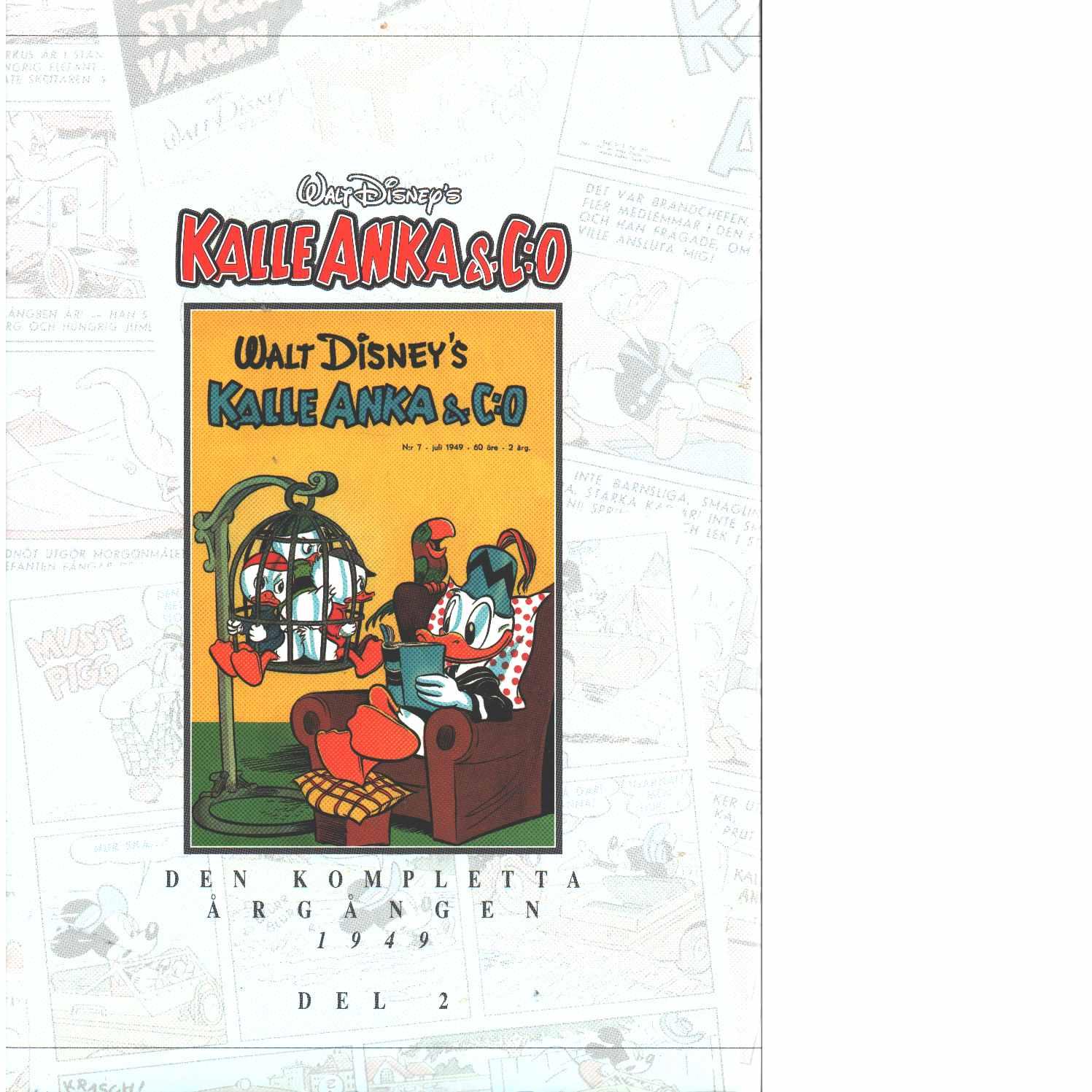 Kalle Anka & C:o. Den kompletta årgången 1949 D 2 - Walt Disney Company