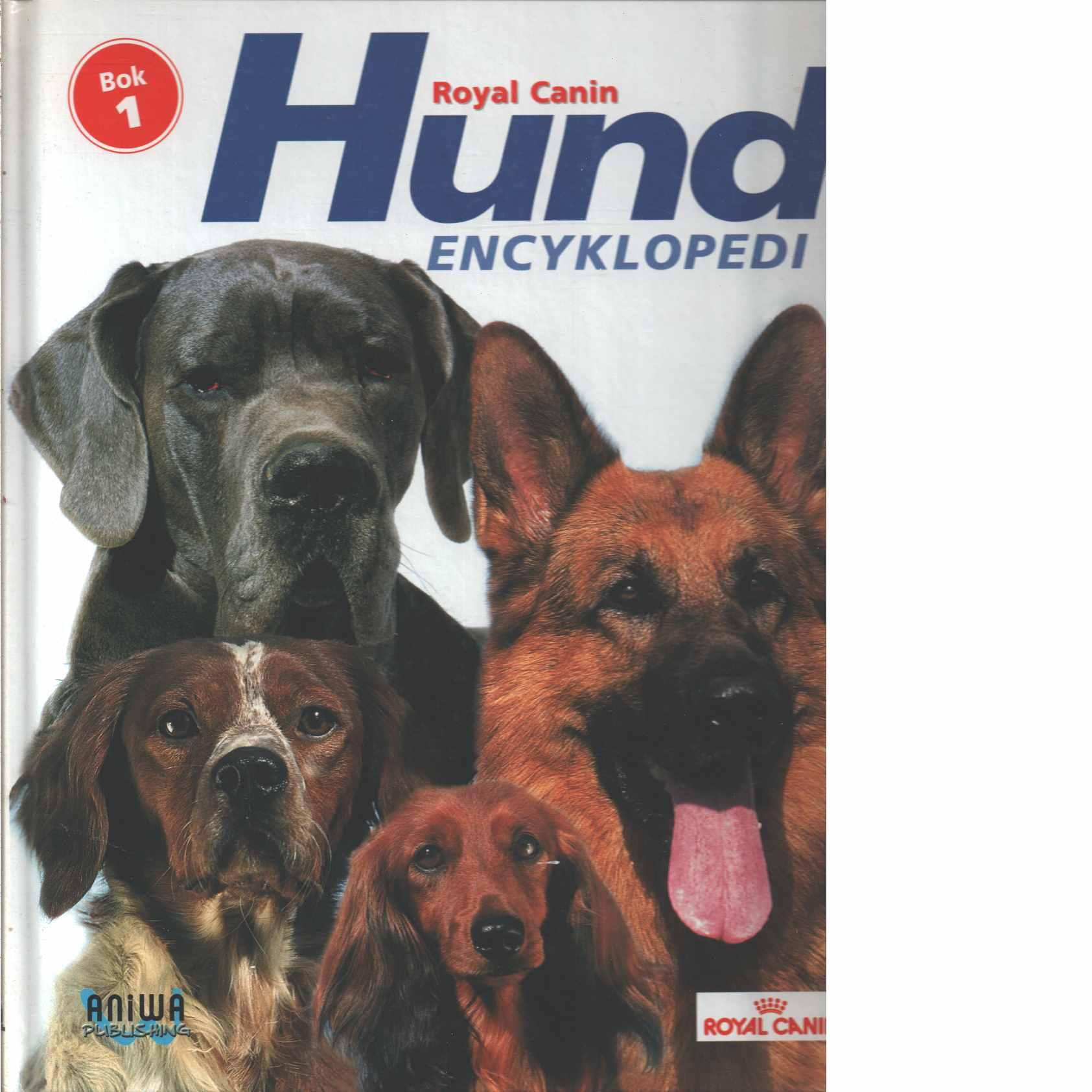 Hundencyklopedi. bok 1 - Red.