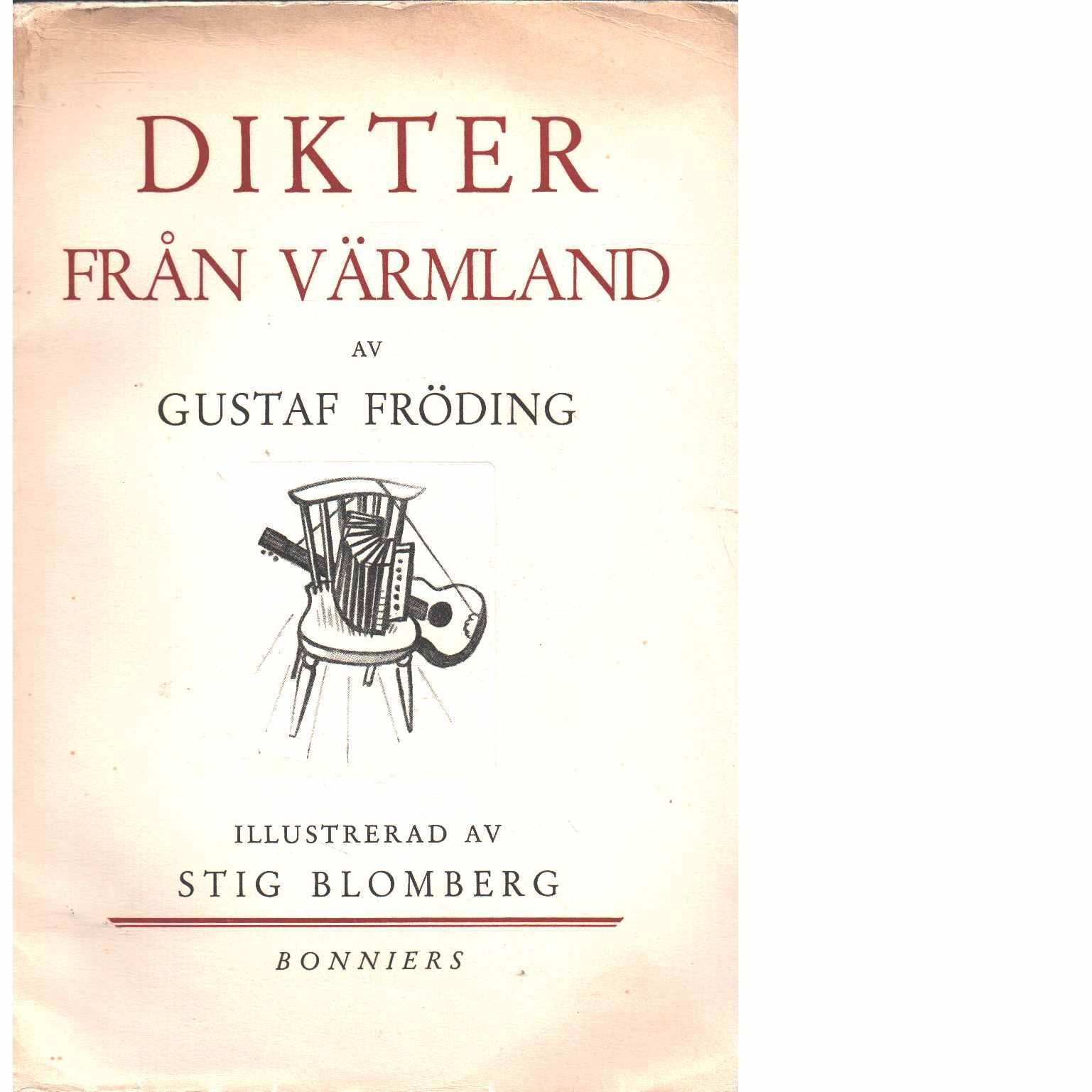 Dikter från Värmland - Fröding, Gustaf