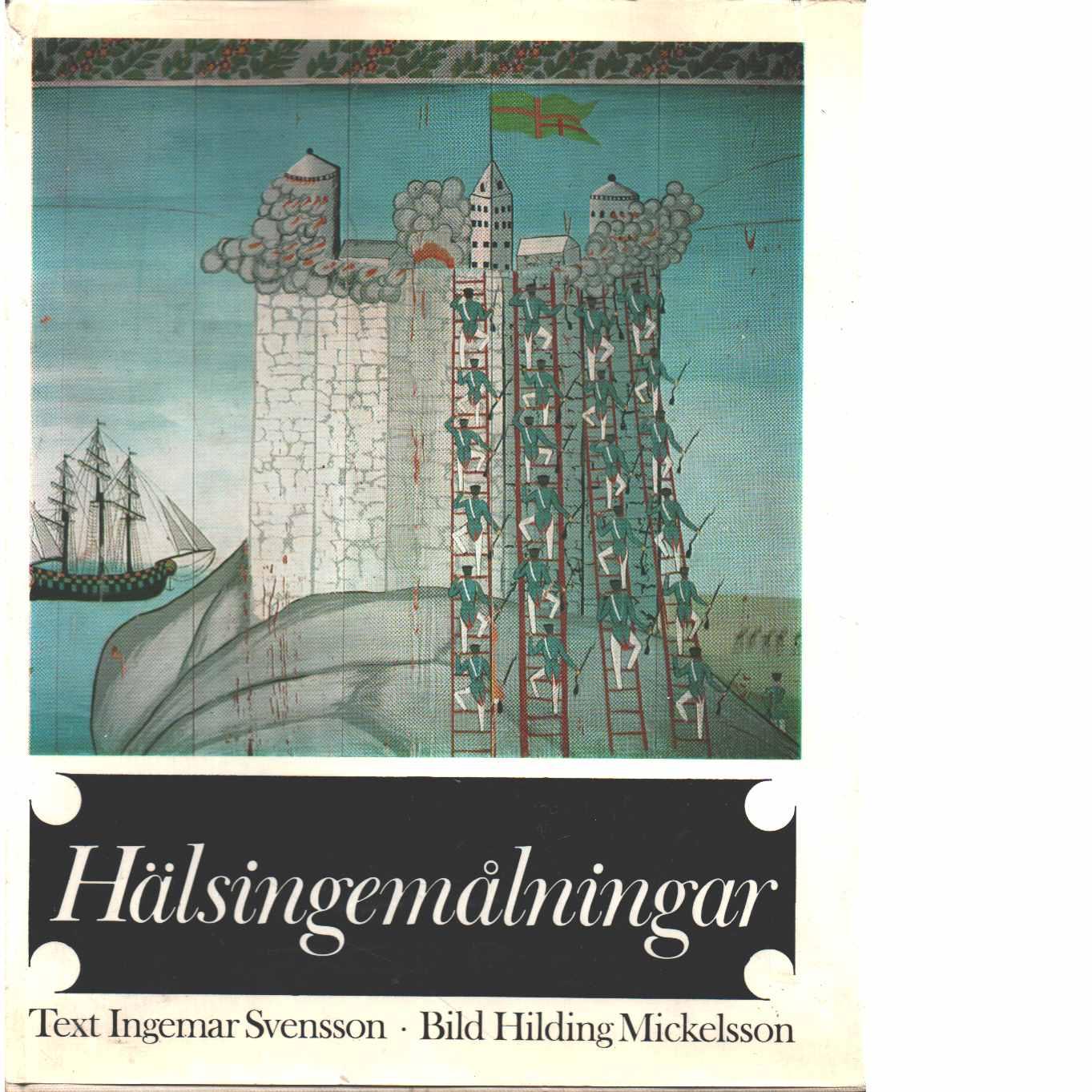 Hälsingemålningar - Svensson, Ingemar