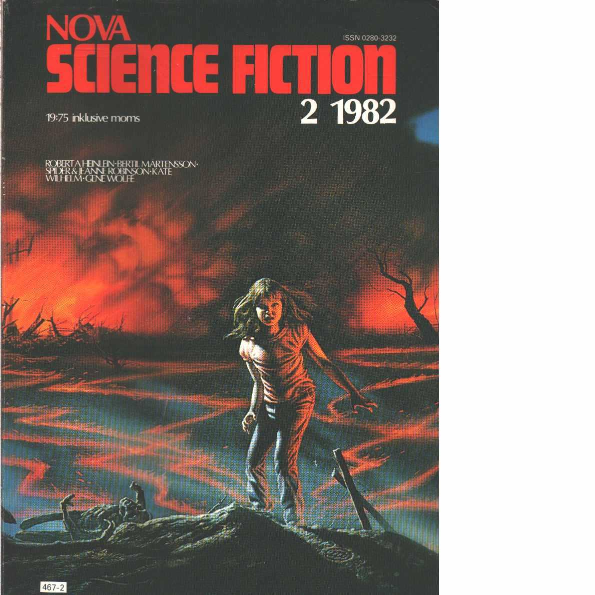 Nova science fiction - Red.