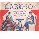 Märk-Bok - Lindberg,George