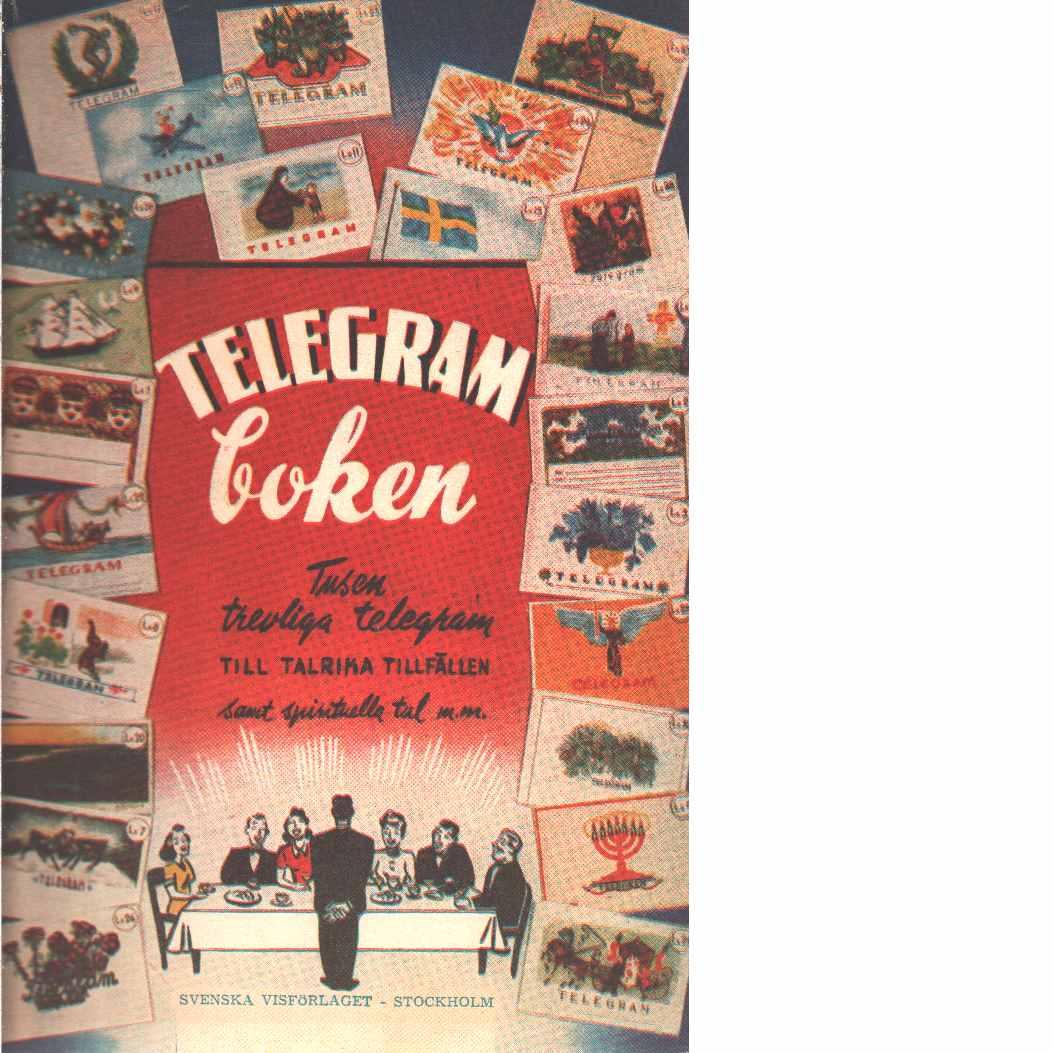 Telegramboken - Red,