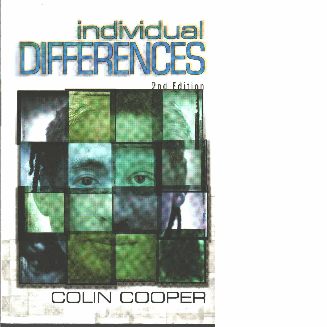 Individual differences  - Cooper, Colin