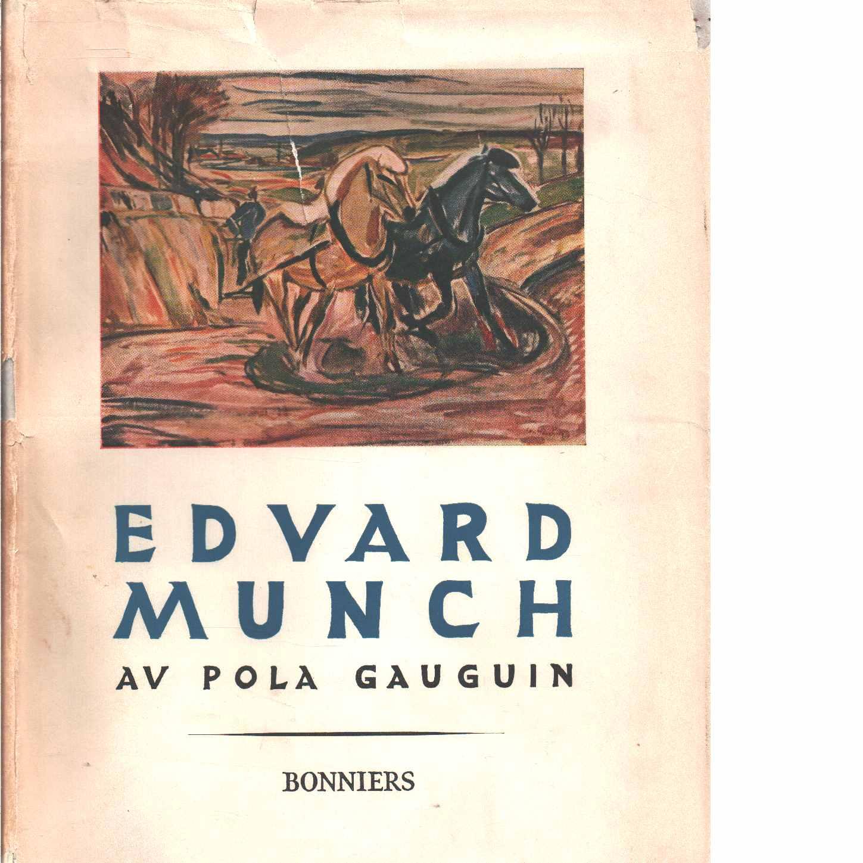 Edvard Munch - Gauguin, Pola