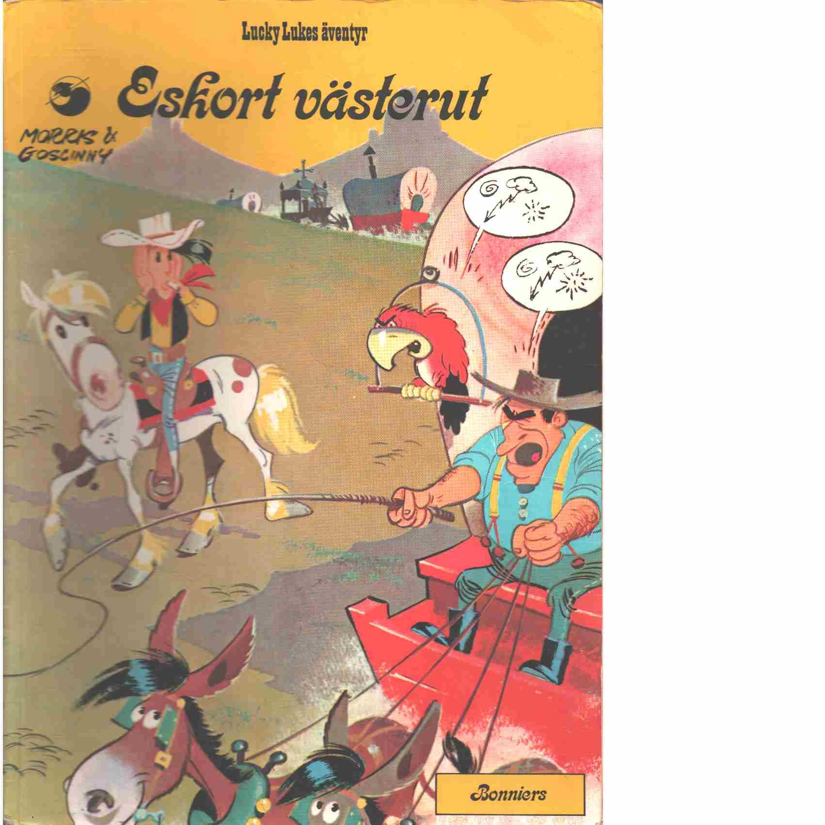 Lucky Lukes äventyr : Eskort västerut  - Morris och Goscinny, René