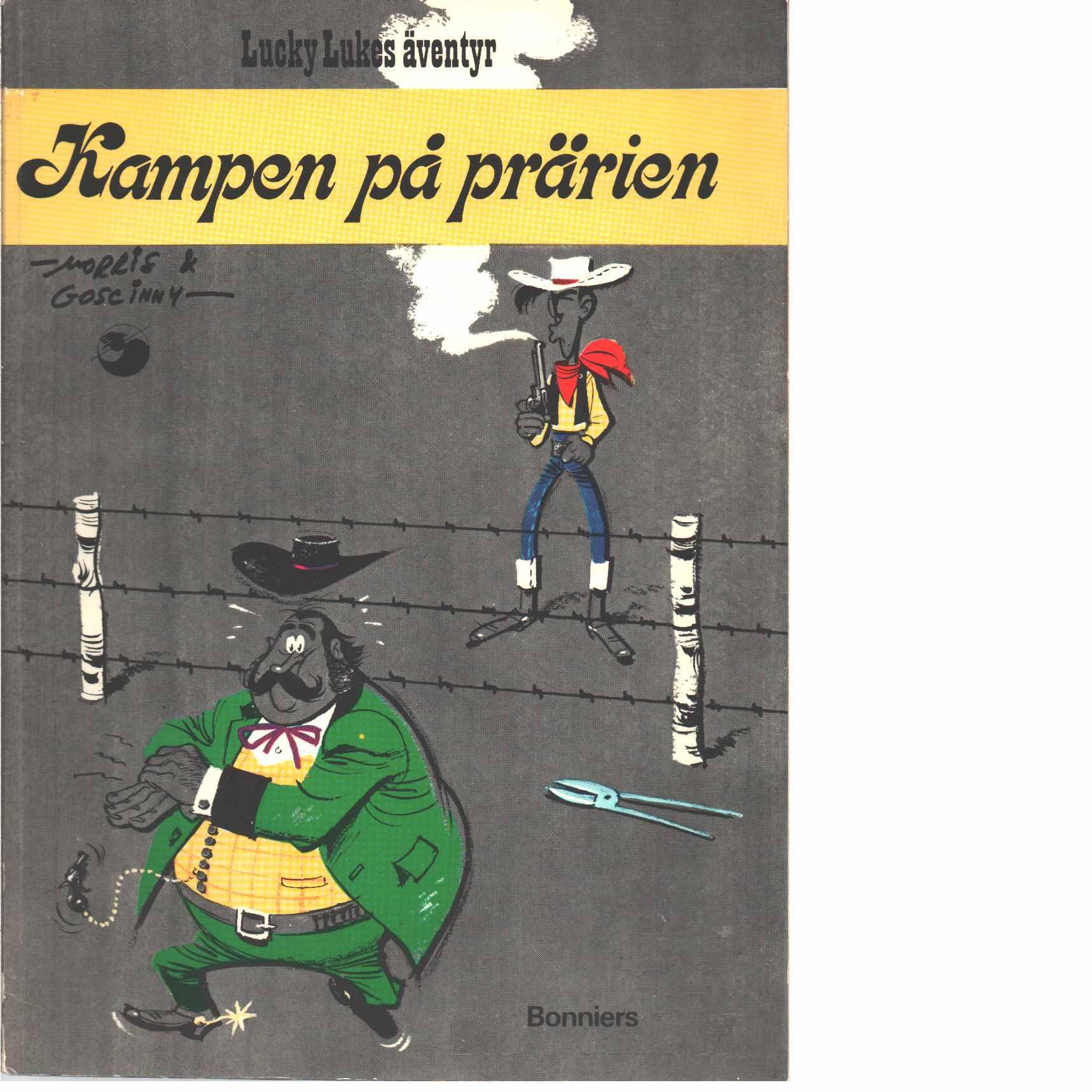 Lucky Lukes äventyr : Kampen på prärien - Morris och Goscinny, René