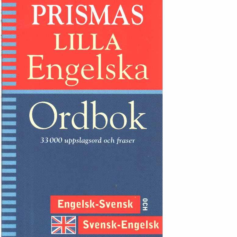 Prismas lilla engelska ordbok   - Red.