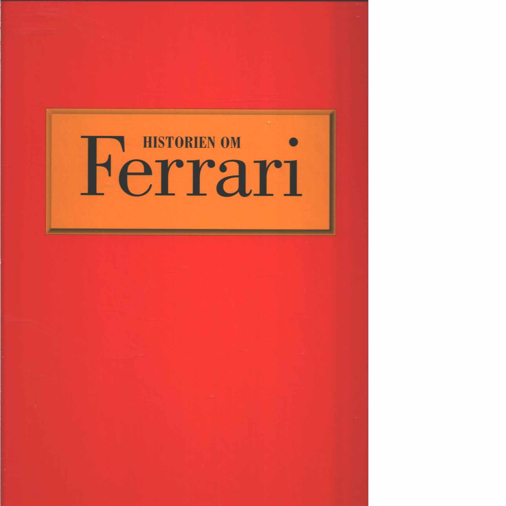 Historien om Ferrari  - Laban, Brian