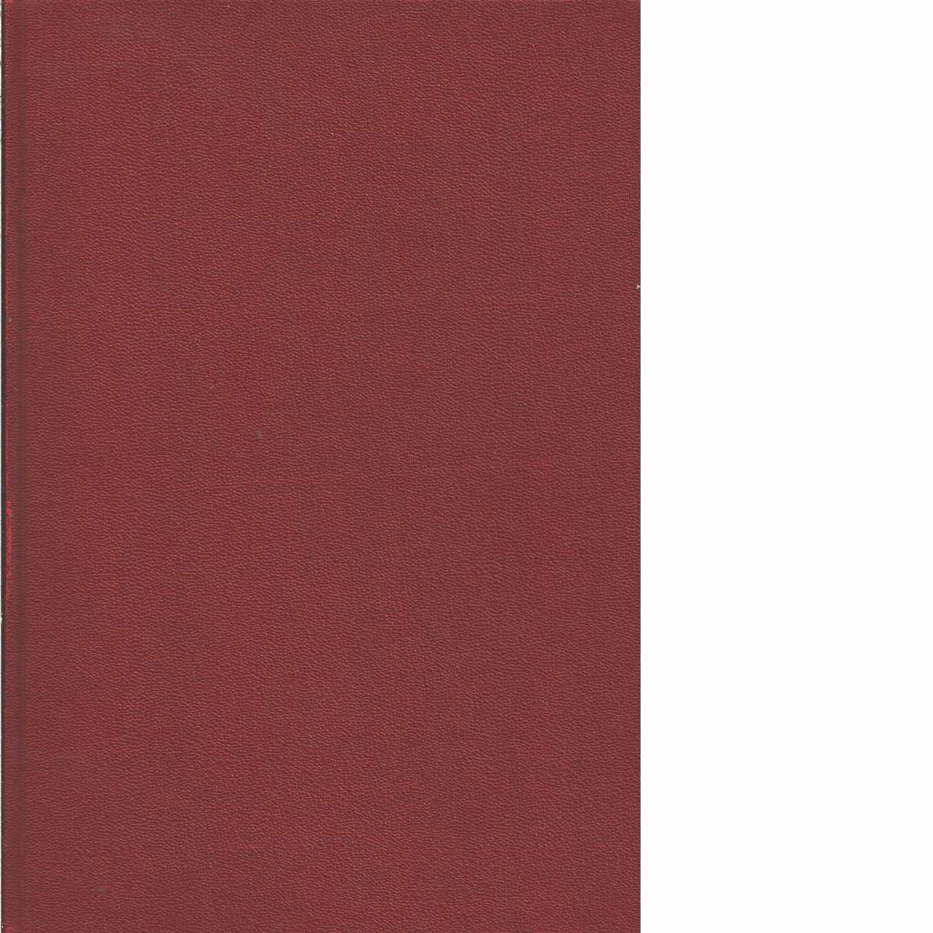 Chassiboken.[1], Ram : karosseri - Red. Engström, Sigvard m.fl.