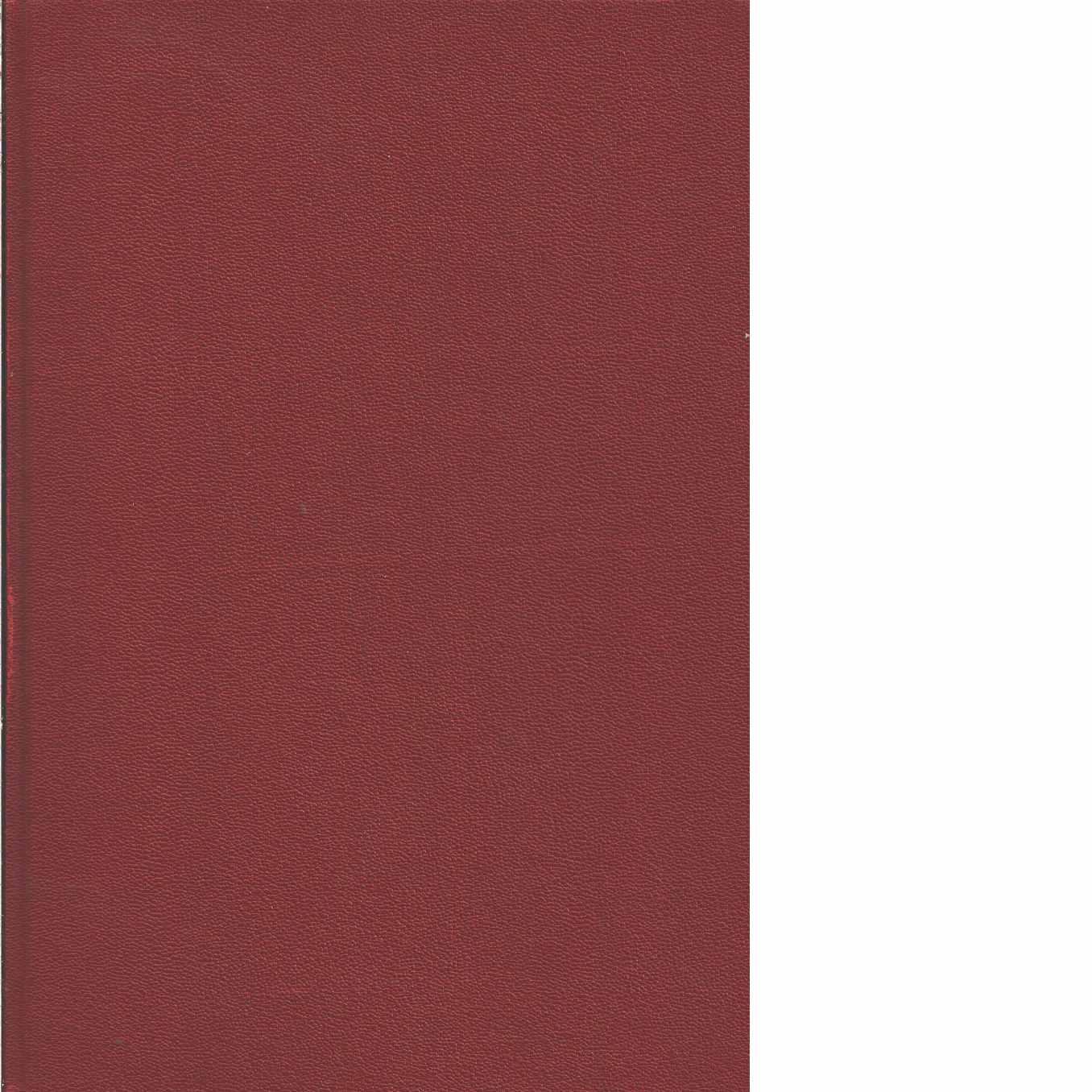 Chassiboken [5], Svetsning : tabeller : råd - Red. Engström, Sigvard m.fl.