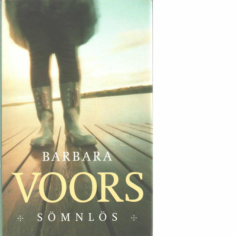 Sömnlös - Voors,  Barbara