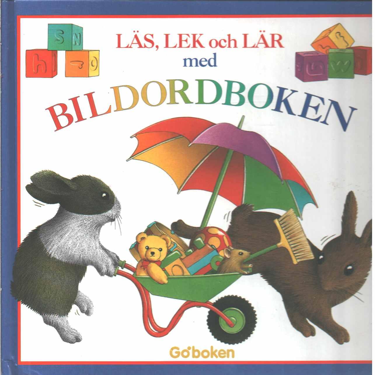 Läs, lek och lär med bildordboken - Baker, Alan