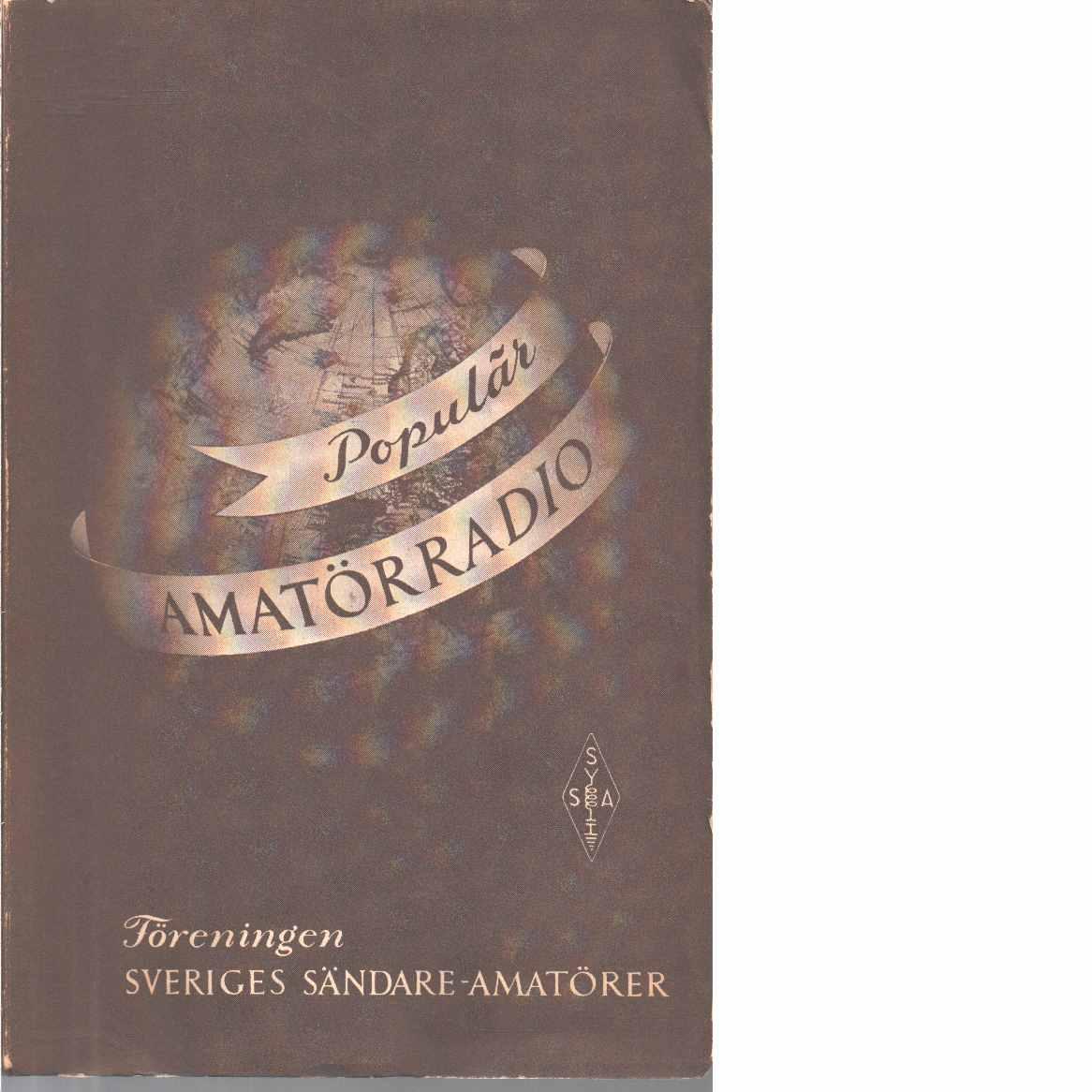 Populär amatörradio - Vesterlid, Arne