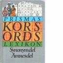 Prismas korsordslexikon - Fröström, Georg och Ohlmarks, Åke
