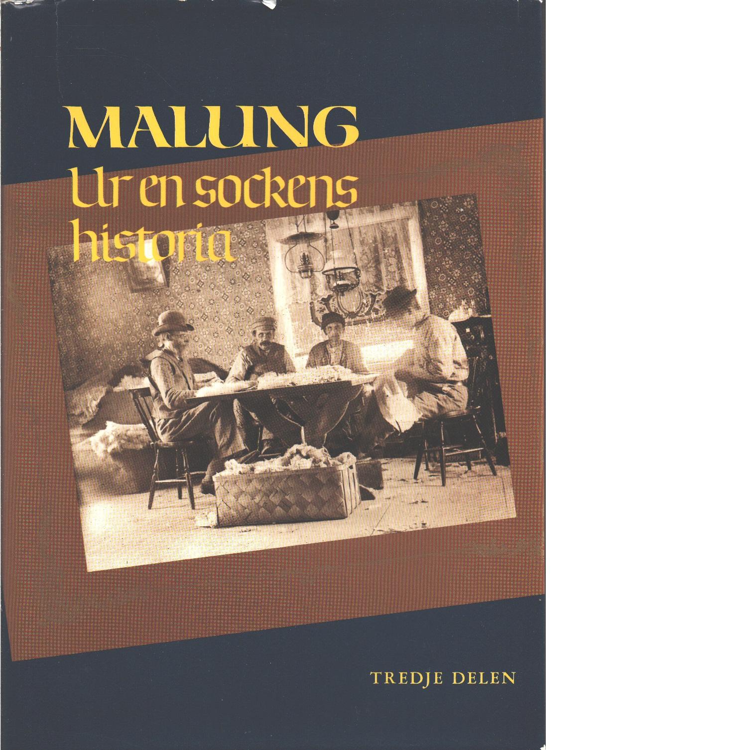Malung : ur en sockens historia. D. 3, Malungs skinnare : ett månghundraårigt hantverk, dess utövning och möte med den moderna tiden - Red. Veirulf, Olle