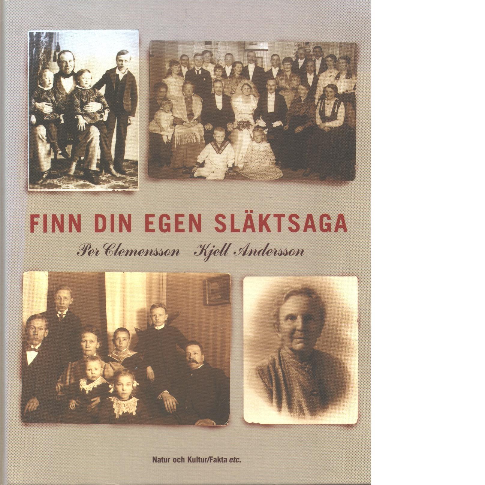 Finn din egen släktsaga - Clemensson, Per och Andersson, Kjell