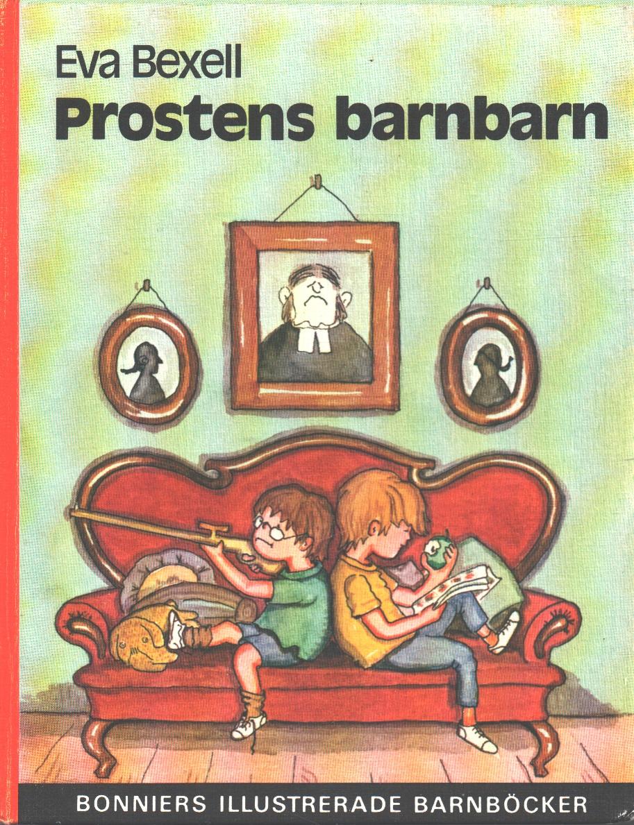 Prostens barnbarn - Bexell, Eva