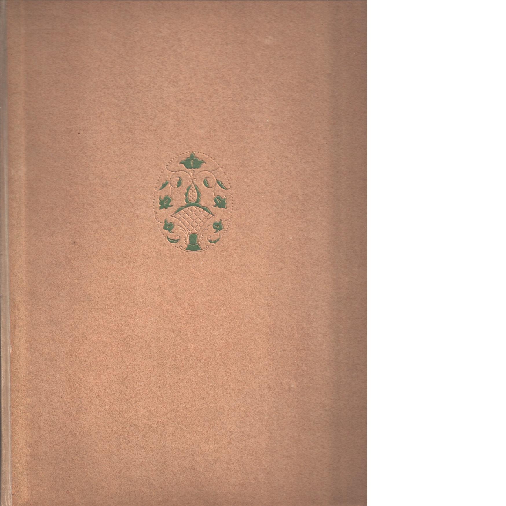 Helgsmål : konst, lyrik och berättelser - Red. Gunnar Mascoll Silfverstolpe