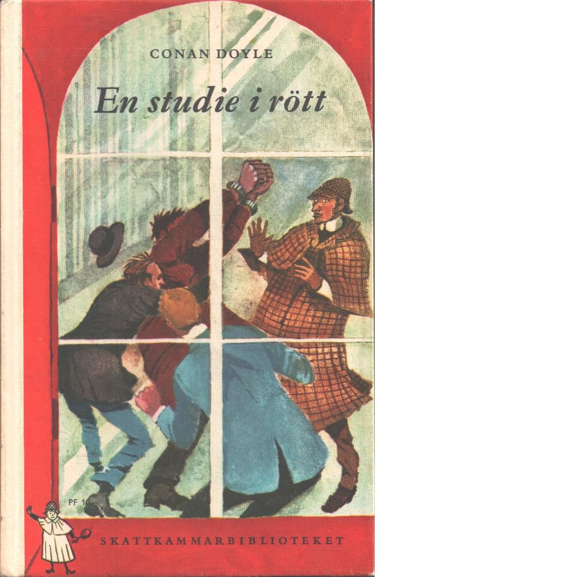 En studie i rött  - Doyle, Arthur Conan