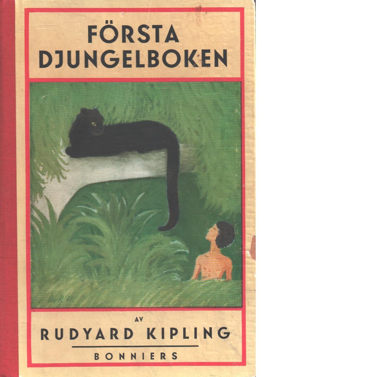 Första Djungelboken - Kipling, Rudyard