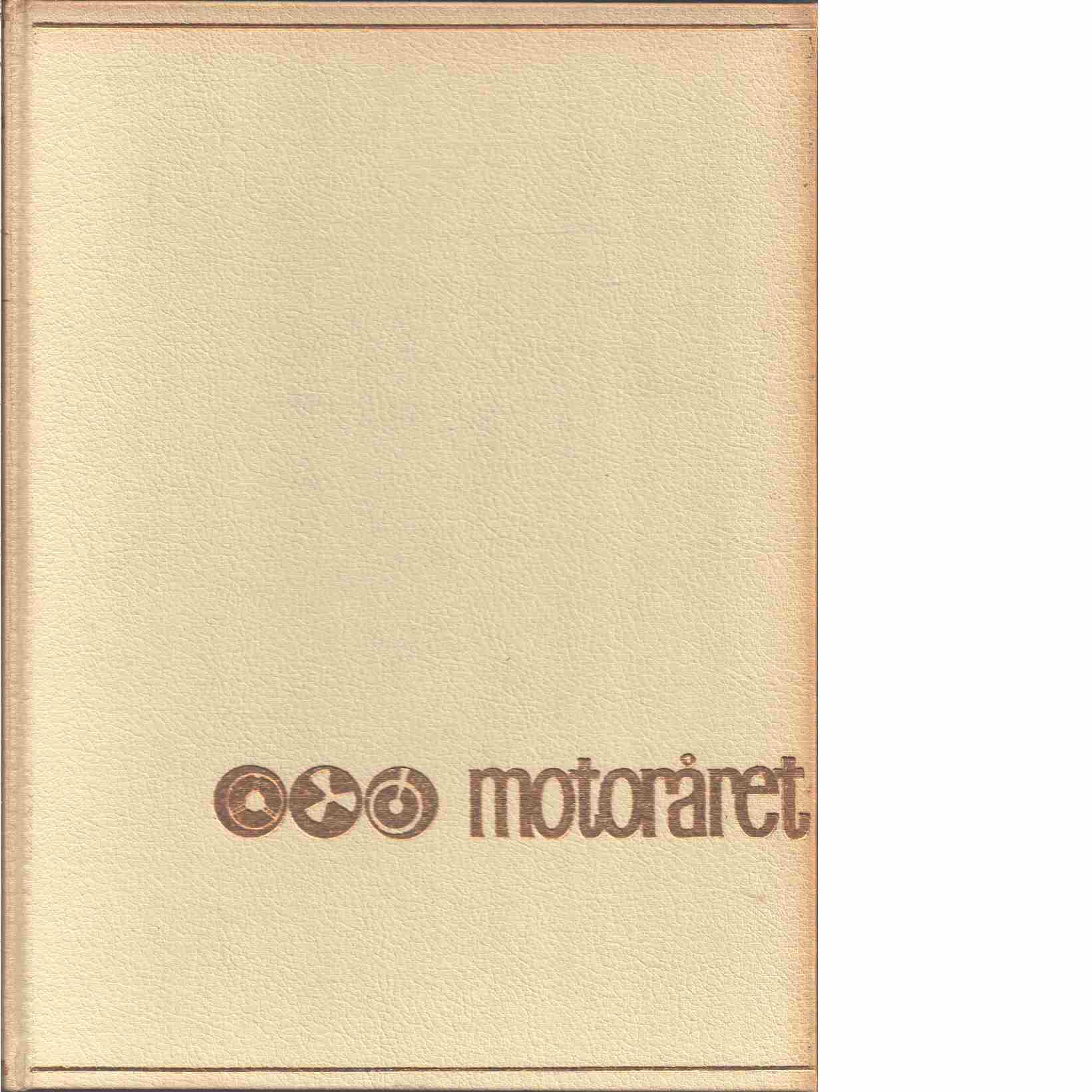 MOTORÅRET - SPORT1963 - BILAR 1964 - Red.