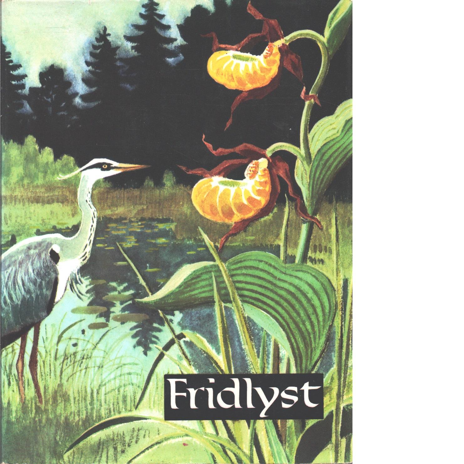 Fridlyst - Red.