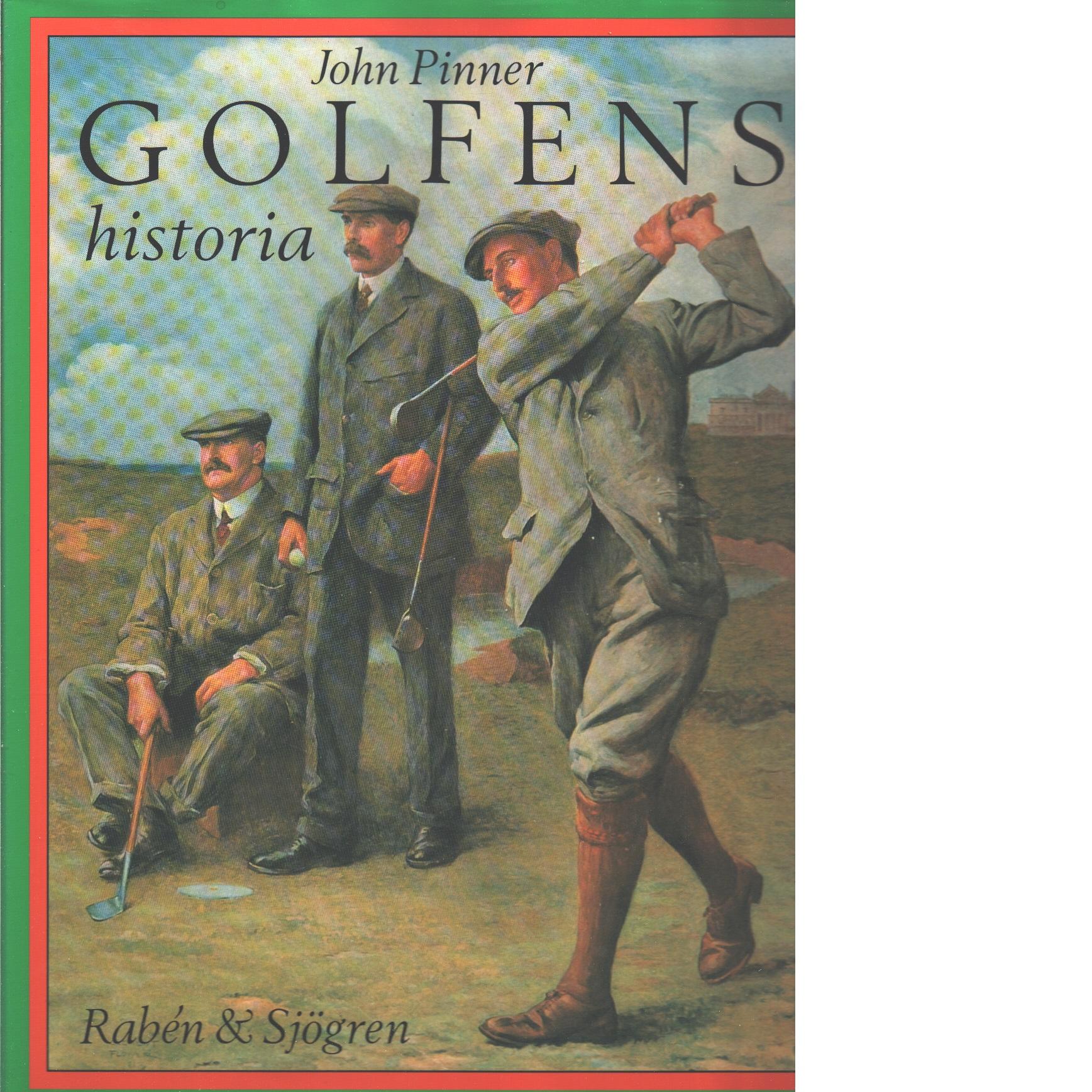 Golfens historia - Pinner, John