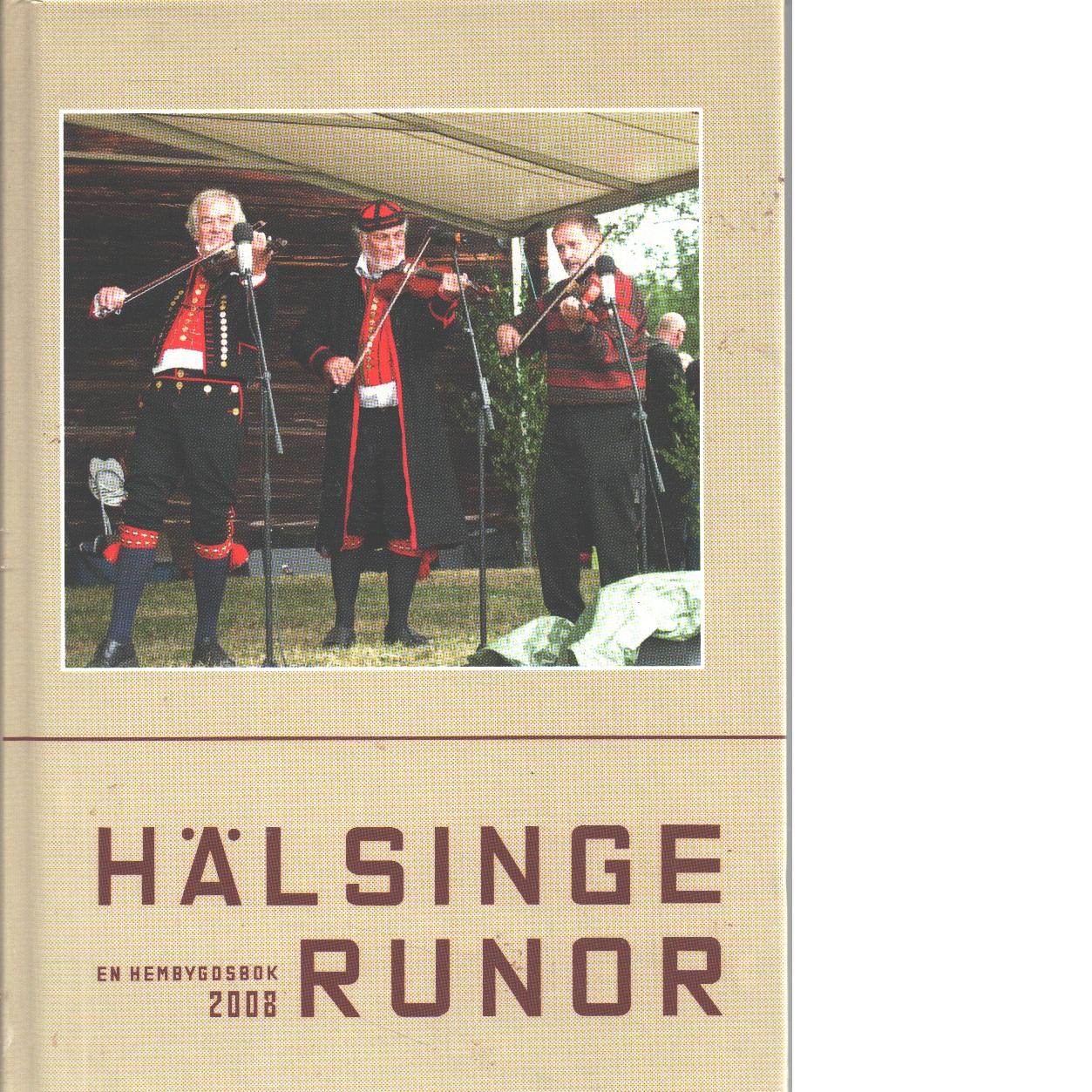 Hälsingerunor 2008 - Red.